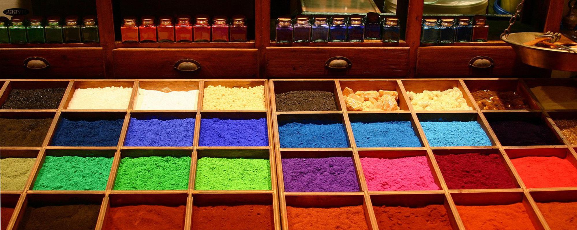 materiales para uso en la industria de pinturas